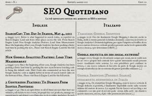 Home page di SEO Quotidiano