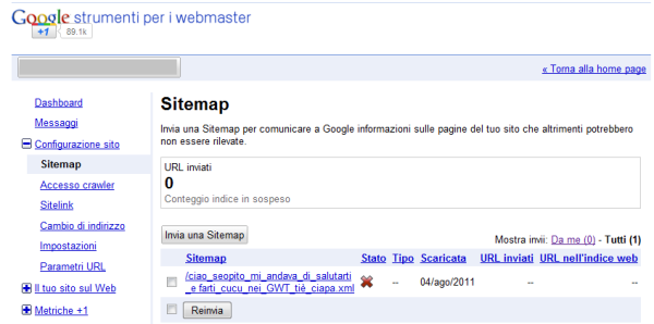 GWT Sitemap URL Tattoo, a summer game? - LowLevel's blog