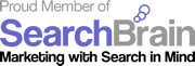 Proud member of SearchBrain
